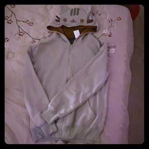 Pusheen the Cat 🐈 grey cat costume hoodie!